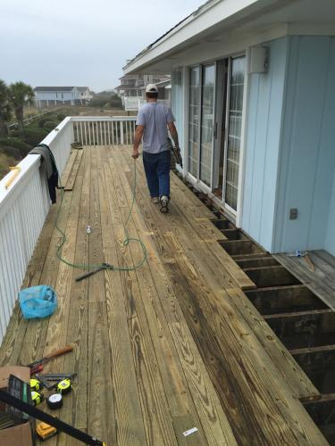 Shoreline deck replacement 2